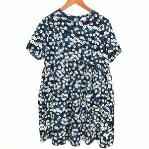 Oh My Love London | Babydoll Floral Blouse Sz M